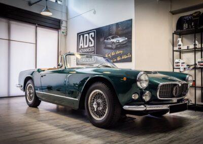 1961 Maserati 3500 GT Spyder Vignale.