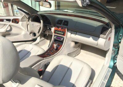 Mercedes-Benz CLK 200 Kompressor Cabriolet.